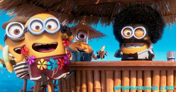 Despicable Me on the beach