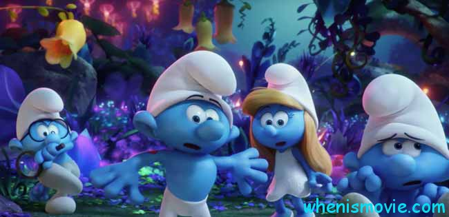 Smurfs: The Lost Village movie