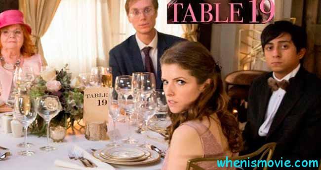 Table 19 movie 2017