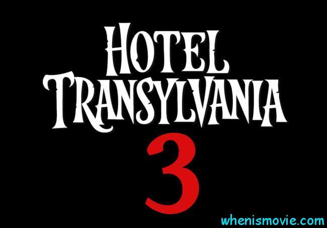 Hotel Transylvania 3 movie 2017