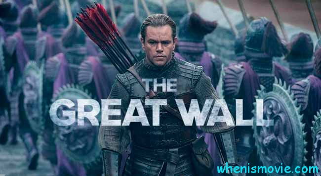 The Great Wall 2017 movie
