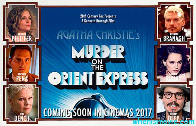 Murder on the Orient Express movie 2017