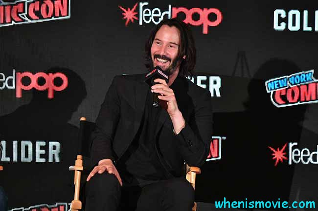 Keanu Reeves at an event for Replicas