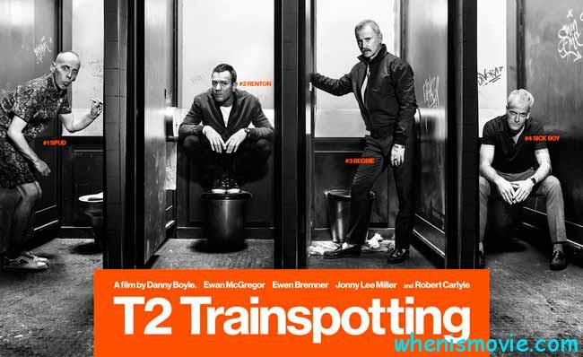 T2 Trainspotting movie 2017