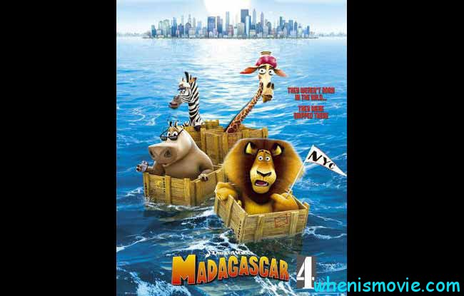 Madagascar 4 movie 2018