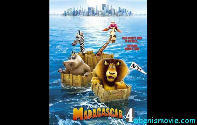 Madagascar 4 movie 2018