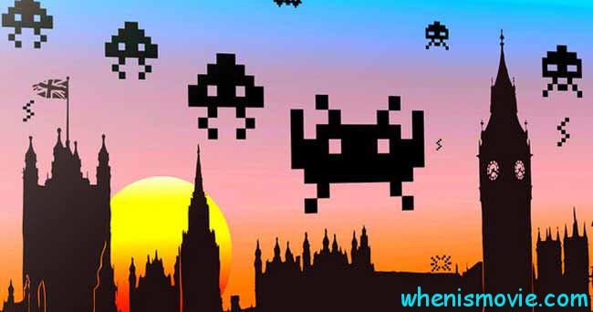 Space Invaders movie 2018