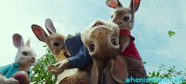 James Corden in Peter Rabbit
