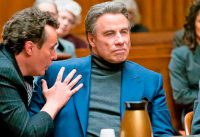 John Travolta and Chris Kerson in Gotti