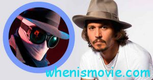 Johnny Depp as The Invisible Man