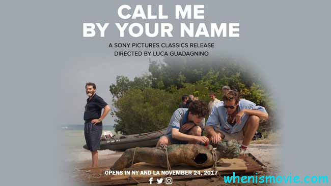 Call Me By Your Name movie