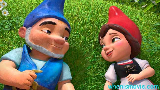 Gnomeo and Juliet 2 Sherlock Gnomes movie