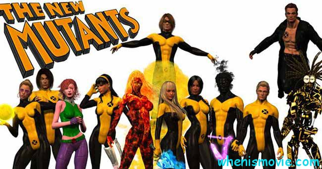 X-Men The New Mutants