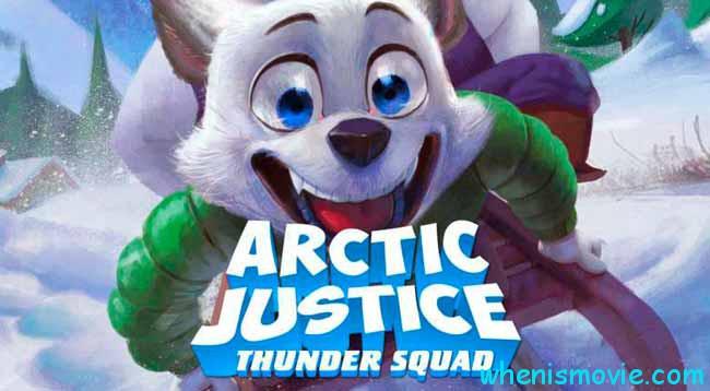 Arctic Justice poster