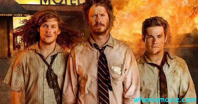 Adam Devine, Anders Holm, Blake Anderson in Game Over, Man!