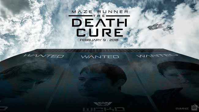 Thomas Brodie-Sangster, Dylan O'Brien, and Rosa Salazar in Maze Runner: The Death Cure