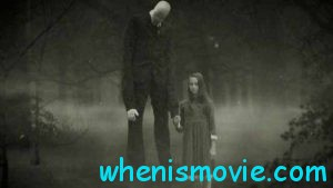 Slender Man and a girl