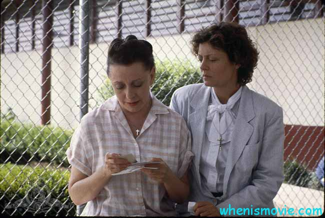 Susan Sarandon and Roberta Maxwell in Dead Man Walking