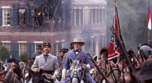 ROBERT DUVALL as General Robert E. Lee