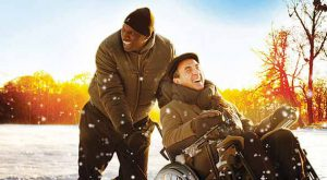 François Cluzet and Omar Sy in Intouchables