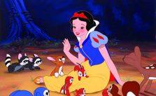 Snow White and animals