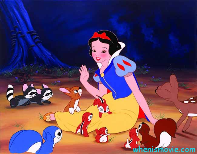 Snow White and animals