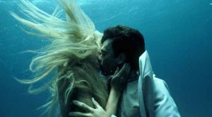 kissing mermaid
