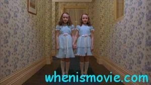 Lisa Burns and Louise Burns in The Shining