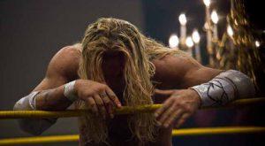 Mickey Rourke in The Wrestler