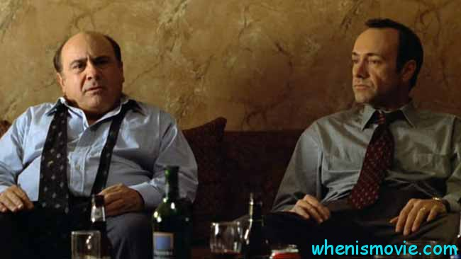 Danny DeVito and Kevin Spacey in The Big Kahuna