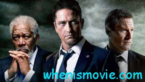 Morgan Freeman, Gerard Butler in Angel Has Fallen