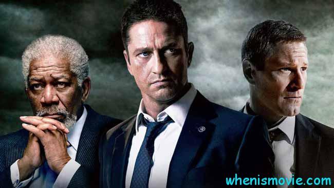 Morgan Freeman, Gerard Butler in Angel Has Fallen