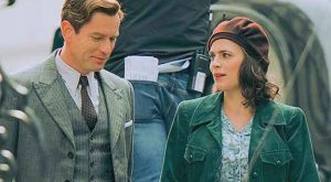 Ewan McGregor and Hayley Atwell in Christopher Robin