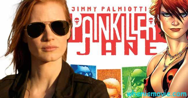 Jessica Chastain in Painkiller Jane