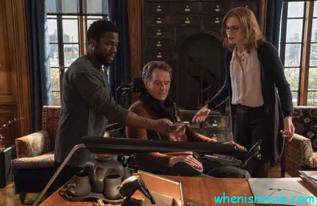 Nicole Kidman, Bryan Cranston, and Kevin Hart in The Upside
