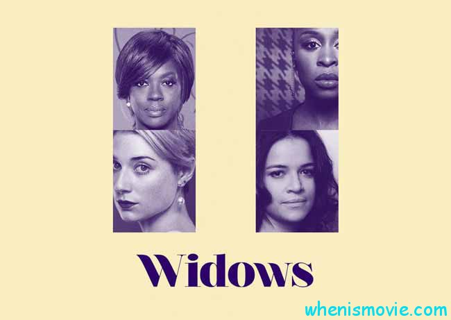 Michelle Rodriguez and others in Widows