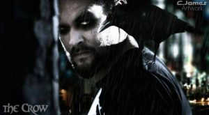 Jason Momoa in The Crow Reborn