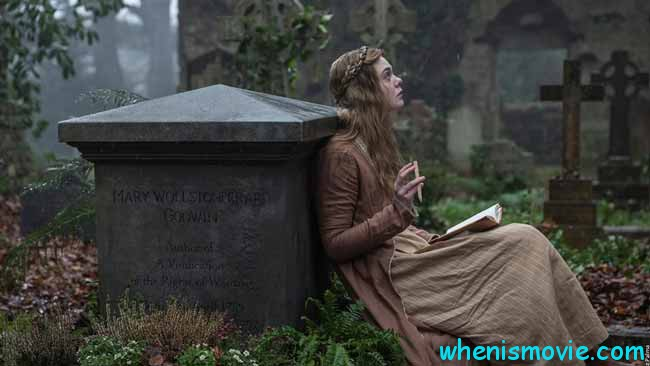 Elle Fanning in Mary Shelley