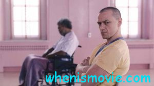 Samuel L. Jackson and James McAvoy in Glass