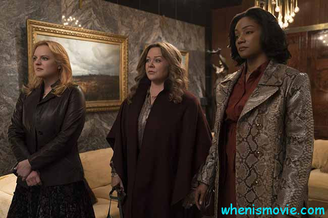 Elisabeth Moss, Melissa McCarthy, and Tiffany Haddish in The Kitchen
