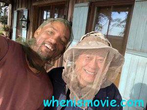 Will Smith and Ang Lee in Gemini Man