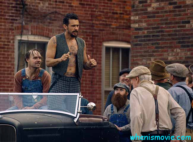 James Franco and Scott Haze in The Long Home